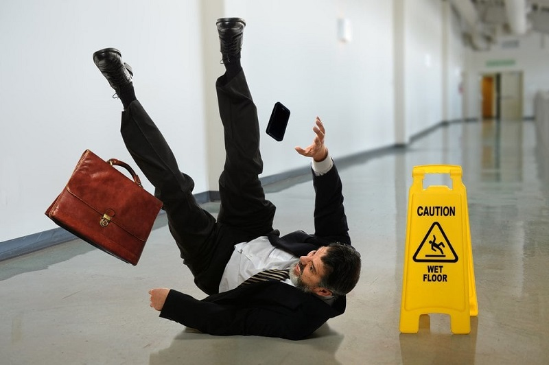 Compensation for Slip & Fall: A Legal Guarantee